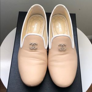 Chanel Lambskin Mocassins- Loafers